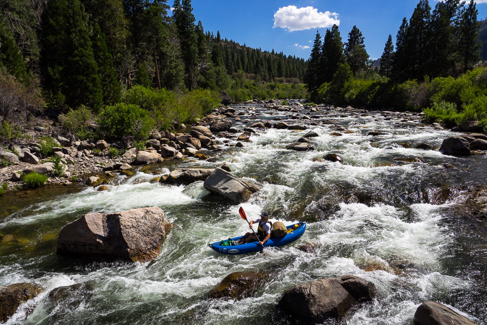Paddling (and Dragging and Hiking) the Truckee River to Reno